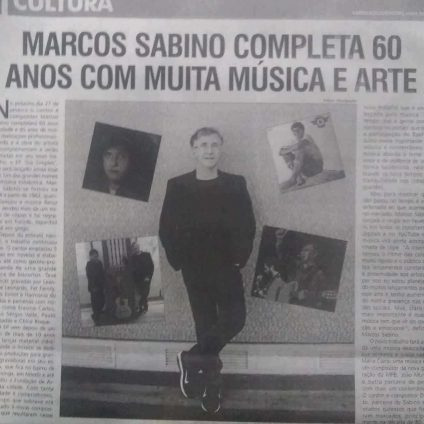 60 anos de Marcos Sabino